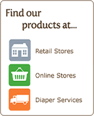 Find Our Products At Your Favorite Cloth Diapers Store