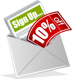 Sign Up For Our Newsletter and Get A Coupon For 10% Off Your Order